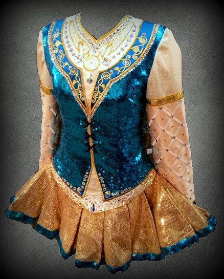 Craggane Designs Irish Dance Solo Dress Costume