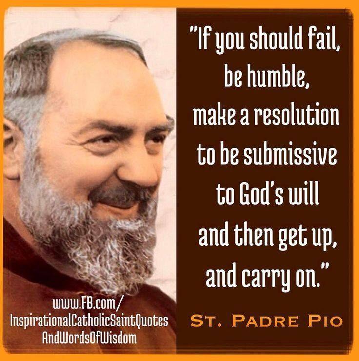 Padre Pio Quotes 24 Best Saint Quotes Images On Pinterest  Catholic Catholic Saints .