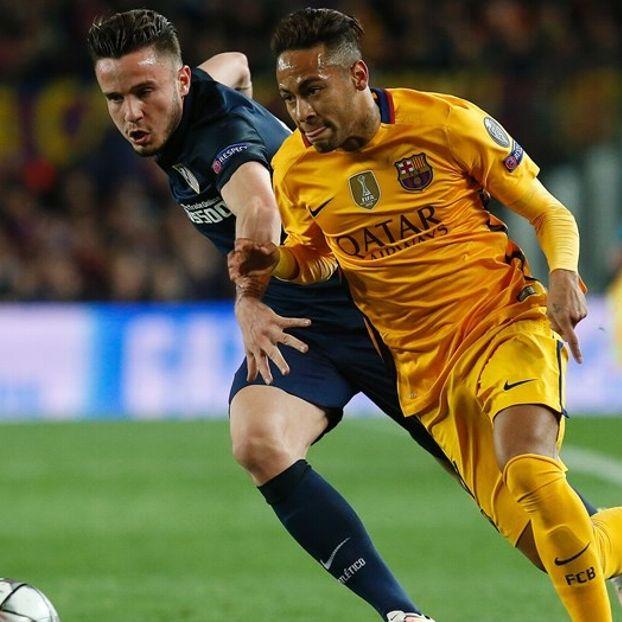 Saul #Niguez #AtlMadrid contro #Neymar #Barcellona