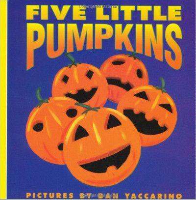 Libri in inglese a tema Halloween - Five Little Pumpkins