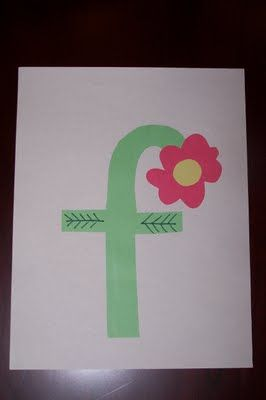 A craft for every uppercase and lowercase letter! This project could give us a craft a day for over 2 months!