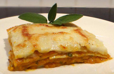 Butternut Squash Lasagne (Lasagne alla Zucca)