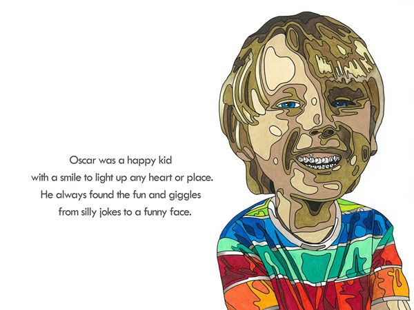 This is a preview of a book I have written (and illustrated) that follows the journey of one little boy looking for his joy. Available to order at