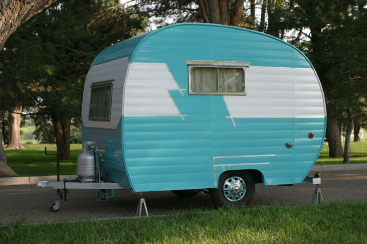 Canned Ham Travel Trailer