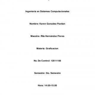 Instituto Tecnológico de Orizaba Ingeniería en Sistemas Computacionales Nombre: Karen González Paxtian Maestra: Rita Hernández Flores Materia: Graficacion N. http://slidehot.com/resources/historia-de-la-graficacion.38067/
