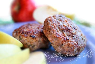 Gluten-Free Maple Apple Breakfast Sausage- and things I lost in the ...