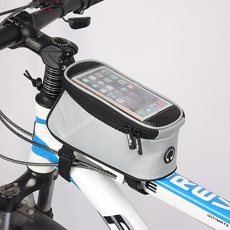 VAIIGO Bicycle Bags Bicycle Front Tube Frame Cycling Packages 5.5 Inches Touch Screen Mobile Phone Bags Professional Bicycle Accessories