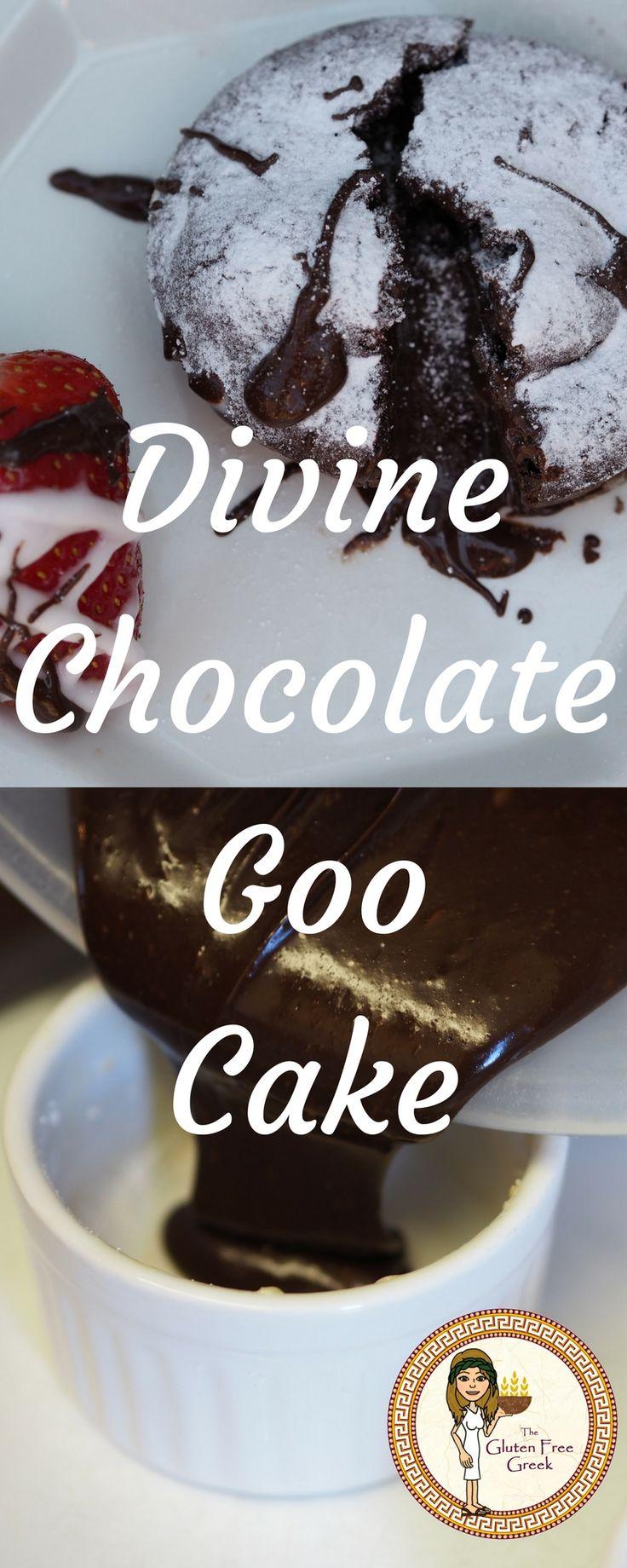 Chocolate Goo Cake Vegan, Nut Free, Wheat Free, Gluten Free