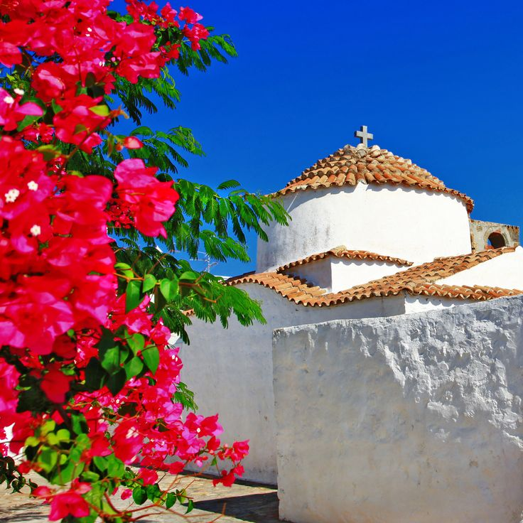 VISIT GREECE| Spring blossom in #Patmos  #visitgreece #greece