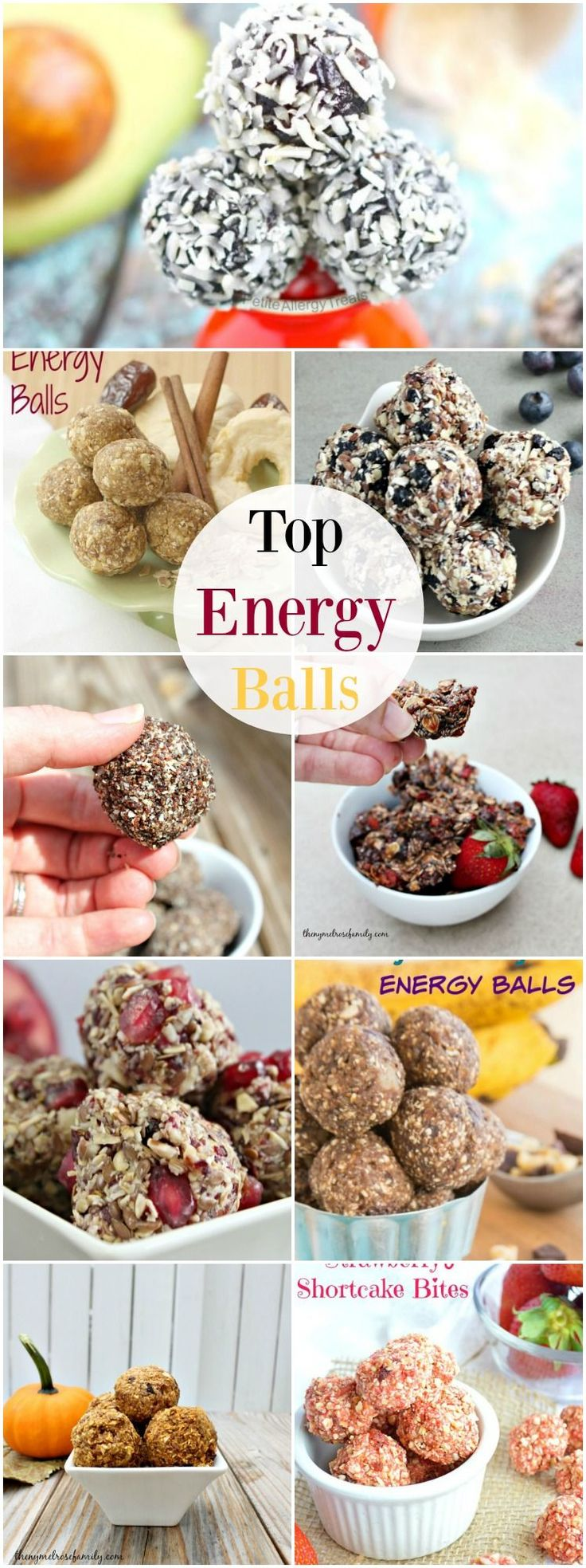 Top Energy Balls perfect for healthy snacks to get you on track in 2016