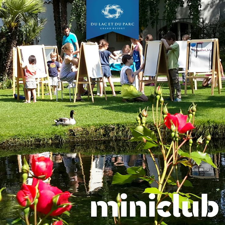 Enjoy the welcome at the miniclub from a duck, our mascot Paul!