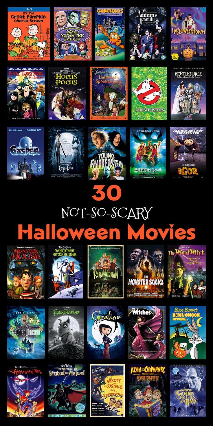 30 Not-So-Scary Halloween Movies | 'Tis The Season