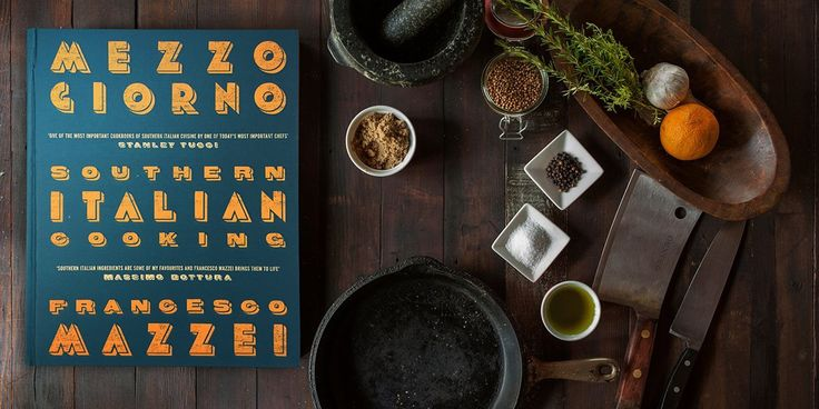 Recipes from Southern Italy is a collection of recipes by Calabrian-born chef Francesco Mazzei.