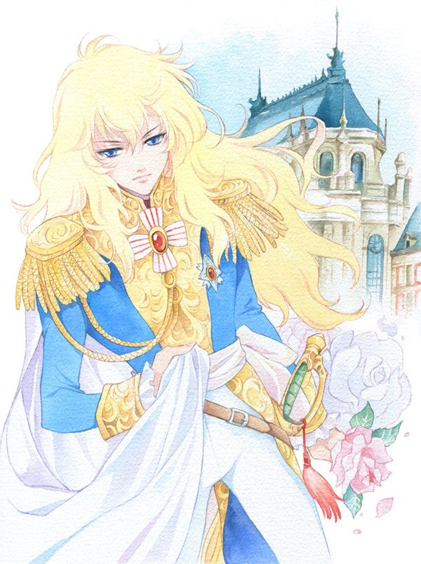 Oscar - Rose of Versailles fanart