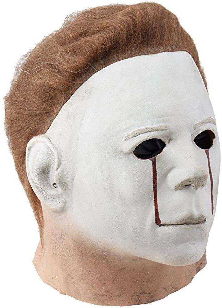 Michael Myers Blood Tears Halloween 2 Full Head Costume Mask Adult