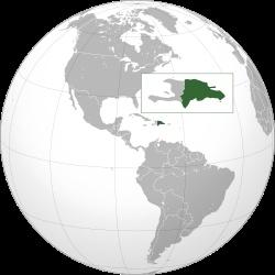 The Dominican Republic (i/dəˌmɪnɨkən rɨˈpʌblɪk/; Spanish: República Dominicana [reˈpuβlika ðominiˈkana]) is a nation on the island of La Hispaniola, part of the Greater Antilles archipelago in the Caribbean region.