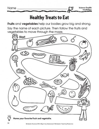 Healthy Treats to Eat | Parents | Scholastic.com free printable