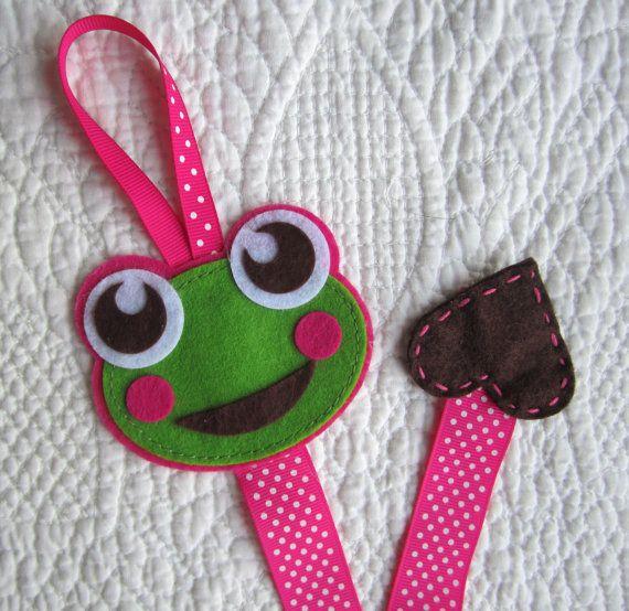 Frog Hair Clip Holder