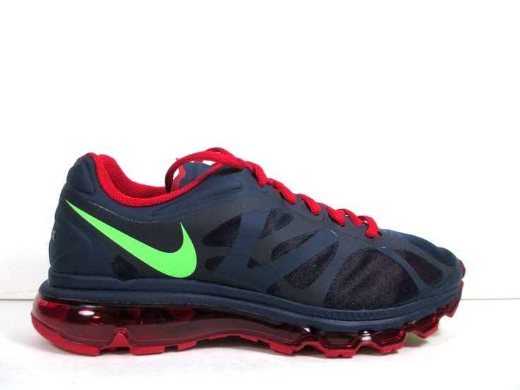 Nike Air Max 360 2012 Mens Size 8.5 Shoe Blue Gym Red Green 2014 487982 436  1 90 #Nike #RunningCrossTraining | Workout | Pinterest | Air max 360, ...