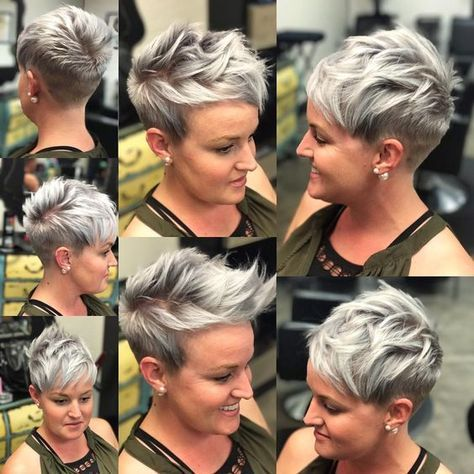 10 Short Hairstyles For Women Over 40 Pixie Haircuts 2021 Thick Hair Styles Short Hair Styles Pixie Hair Styles