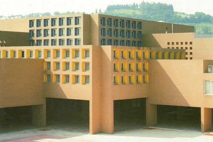Carlo Aymonino – Liceo scientifico e campus scolastico – Pesaro - 1974-81