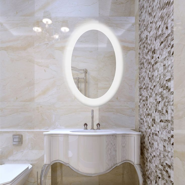 Lighted Bathroom Wall Mirror Large: Best 25+ Backlit Mirror Ideas On Pinterest