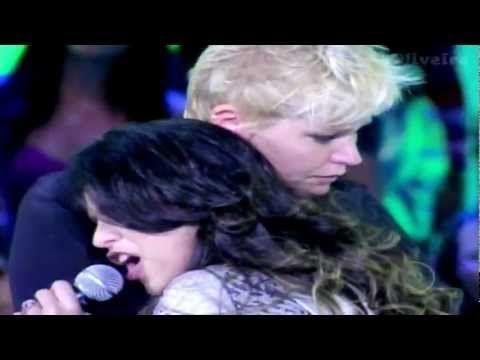 XuXa CHORA Satanás mordeu a TESTA! - Aline Barros Tv Xuxa 11/02/2012 - YouTube
