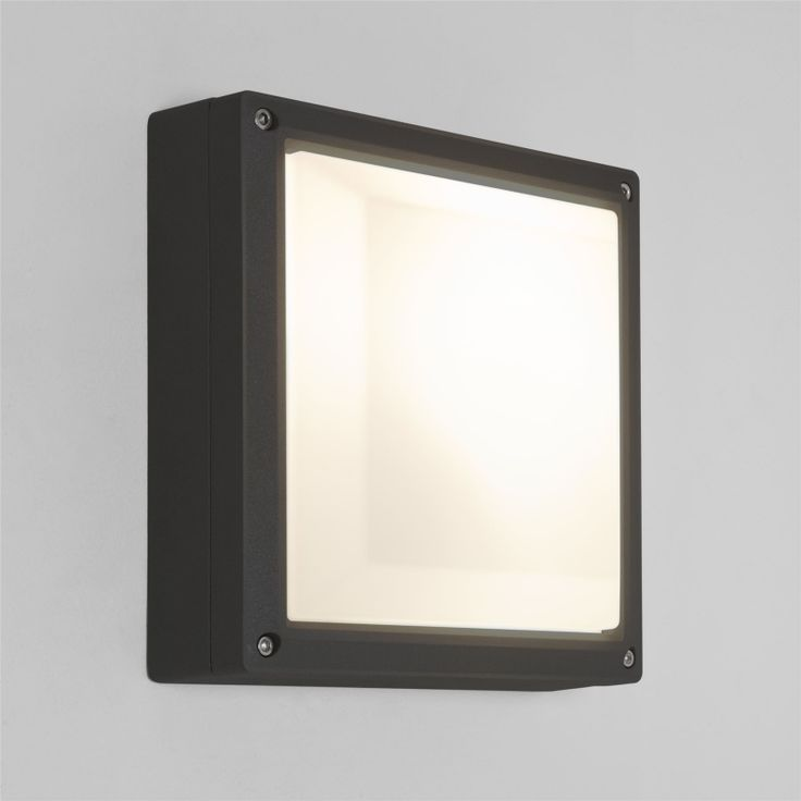 ARTA SQUARE OUTDOOR WALL LIGHT BLACK