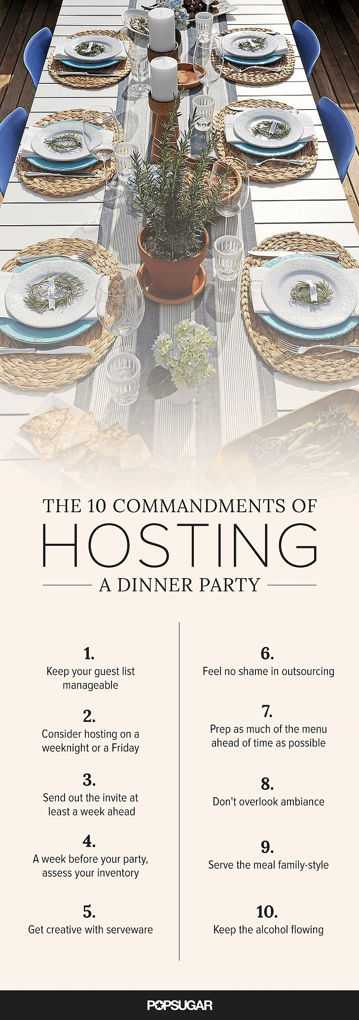 How to Host a Dinner Party | POPSUGAR Food