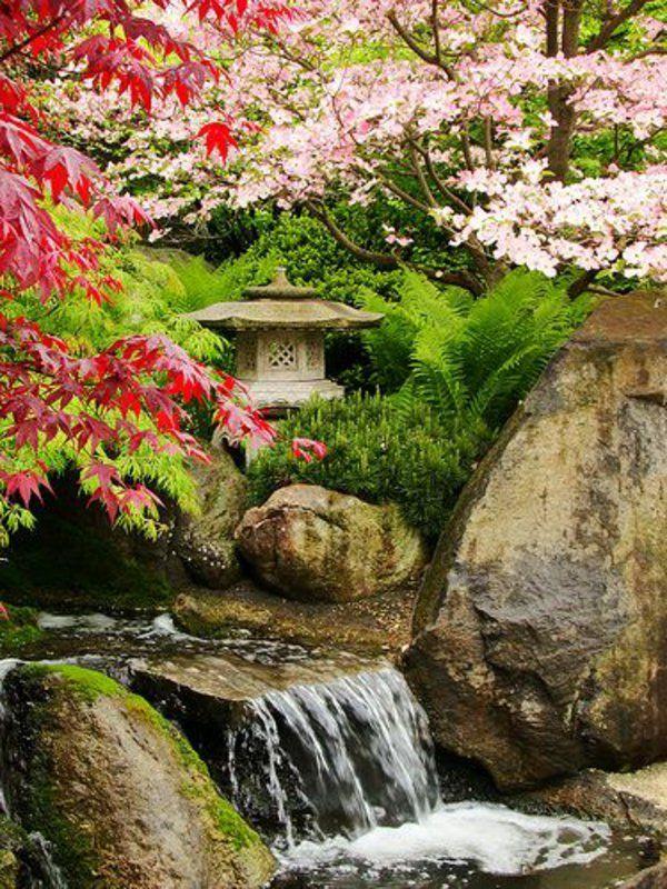 Les 20 meilleures images du tableau jardin japonais sur - Tableau jardin japonais ...