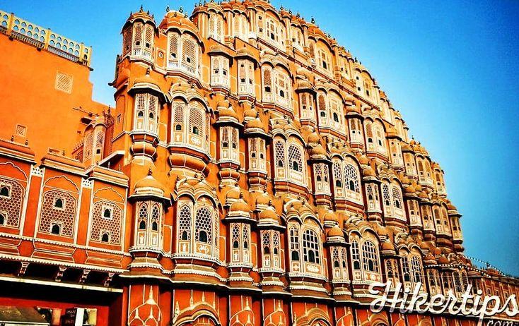 Hawa Mahal is an interesting palace in Jaipur