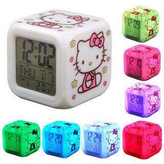 https://flic.kr/p/T3XRVo | Hello Kitty Temalı, Termometreli, Led Işıklı Dijital Masa Saati .. Çocuklarınız için mükemmel bir hediye. Hem başucu lambası hem termometre hem de saat.  #hellokitty #Saat #Masasaati #Termometre #clocks #watch #saatler #moda #dijitalsaat