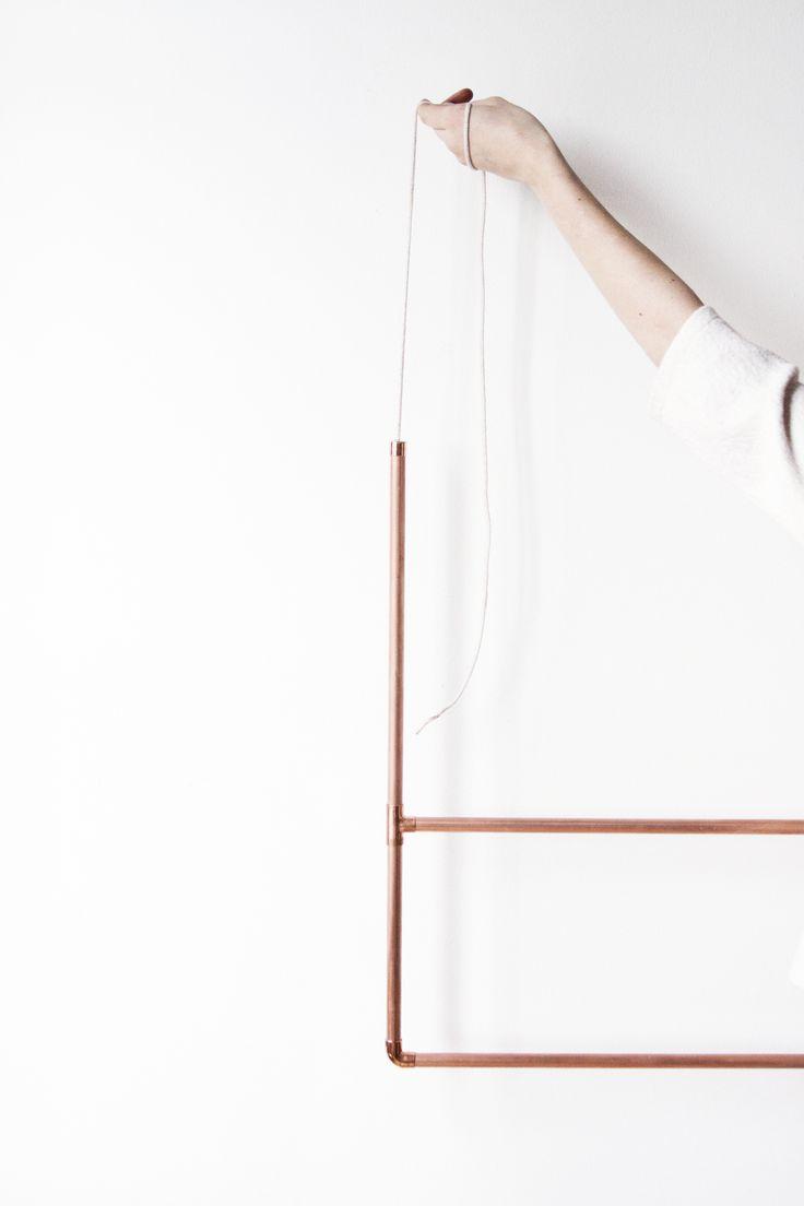 clothes rail ceiling home pinterest clothes rail