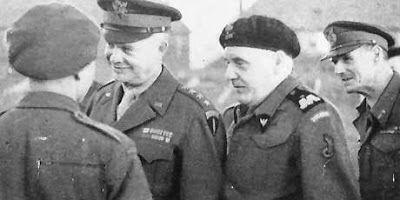General Eisenhower with General Maczek.