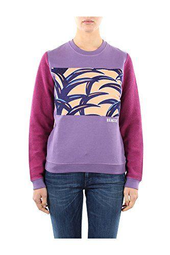 9152TO70081K02 Kenzo Sweatshirts Damen Baumwolle Violett - http://on-line-kaufen.de/kenzo/9152to70081k02-kenzo-sweatshirts-damen-violett