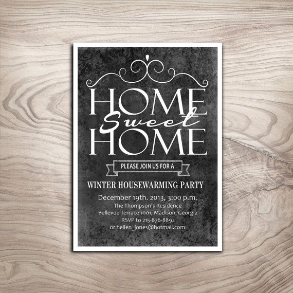 17 best images about jarrett's housewarming party on pinterest, Invitation templates