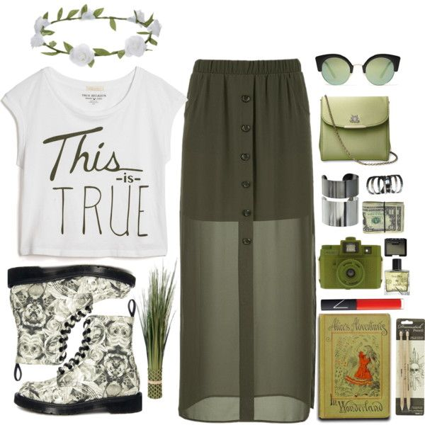 """Go green"" by dame-rohana-marbun on Polyvore"