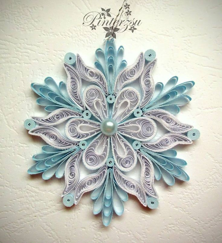 170 Best Quilled Snowflakes And Christmas Patterns Images border=