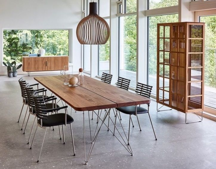 The Plank De Luxe Dining Table Made In Denmark Features