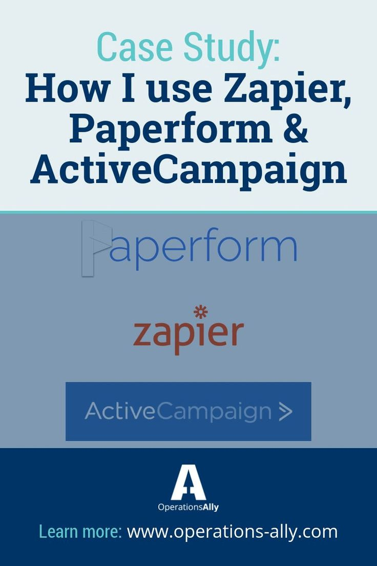 In this post, I'll outline how I use Zapier + Active Campaign + Paperform to automate a key process in my business.
