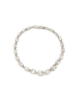 Art Deco Platinum, White Gold, & Diamond Graduated Station Bracelet by  Portero Luxury at Gilt