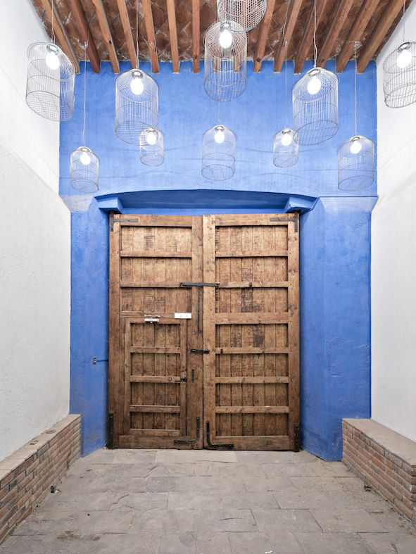 Hacienda San Antonio | Dionne Arquitectos + Posada Arquitectos #entrance #detail #design #architecture