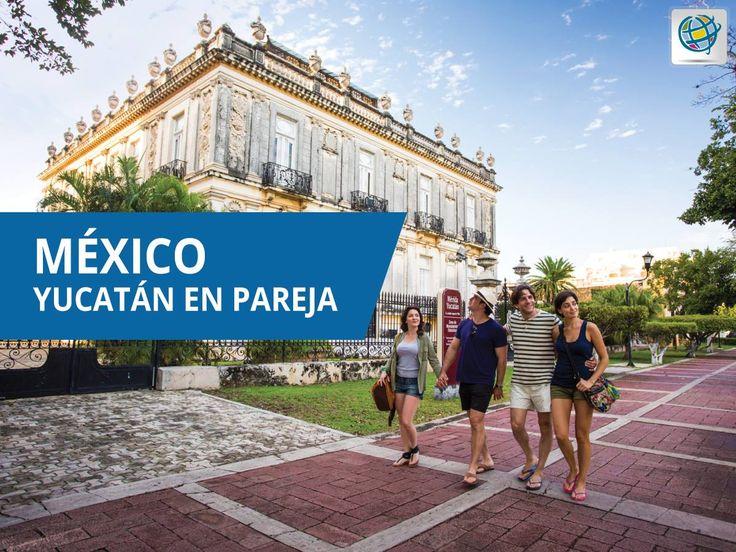 #Yucatán en pareja ❗ Visitar el centro histórico, comer los platillos típicos de Yucatán e interactuar con la cultura mexicana tendrá un mayor significado si lo haces con tu pareja, en especial por todas las historias que recordarán juntos. 👫❤ #VisitaYucatán 👉 #México
