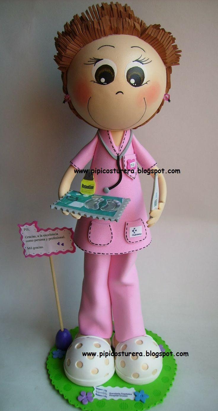 Pipicosturera ** Elena Froilan : Fofucha enfermera Pili