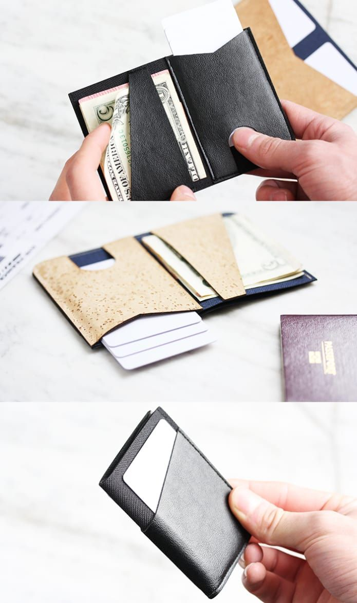 black very cool not too expensive wallet