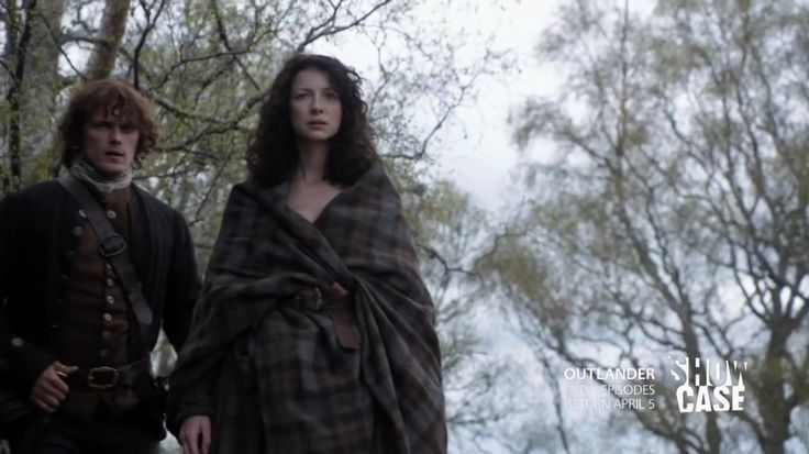 Screencaps from the Canadian Outlander Trailer