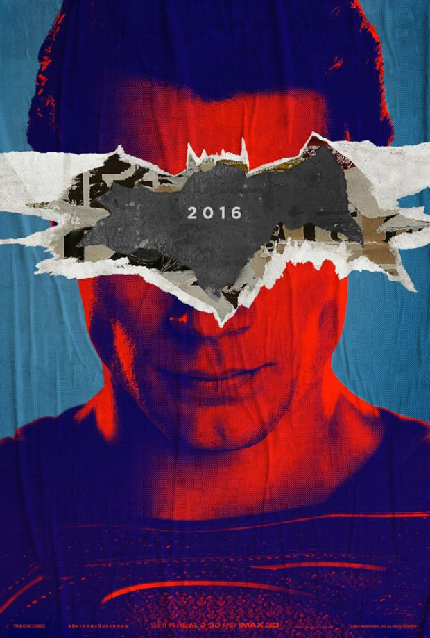 The 'Batman v Superman' Posters Are The Coolest Movie Posters In Years - Airows