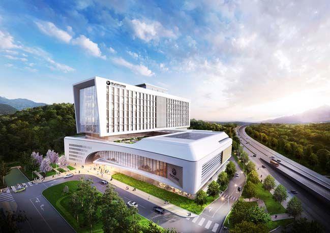 Sejong Chungnam National University Hospital by Heerim
