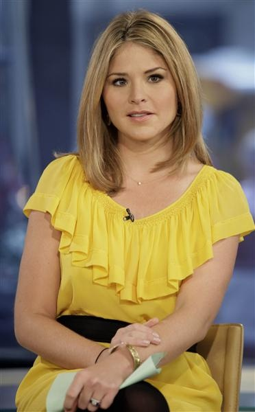 Jenna Bush Hager - I love her! I would love to grab coffee with her some day.