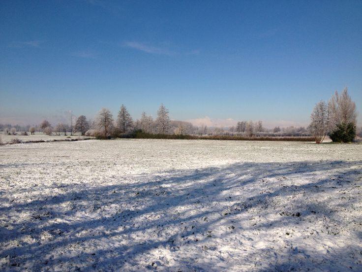tra Cassinetta e Corbetta ... d'inverno